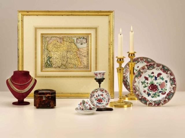 Famille Rose porselein (verkocht)