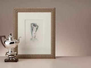 Naaktstudie van Jan Sluijters en een Hollands zilveren koffiekan uit de 19de eeuw