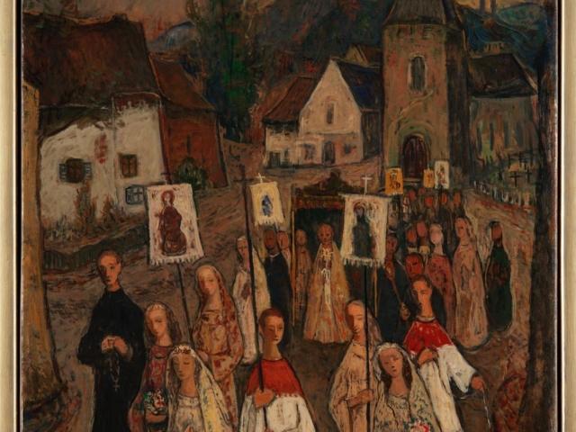 Harry Koolen; Processie in Zuid-Limburg